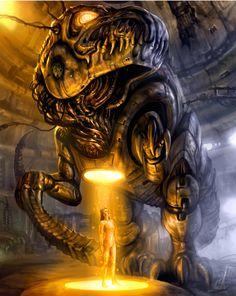 Mecha-Rex by chrisscalf on deviantART