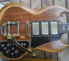Gonzales SG built in effects 1971-1972
