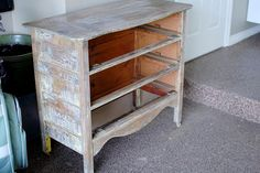 List of supplies & directions to paint a dresser. This will be helpful for my summer projects.