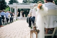 Outdoor weddings take place under the pergola | Romantic Mansion Wedding at Patrick C. Haley Mansion, Southwest Chicago | Photographer: Traci & Troy
