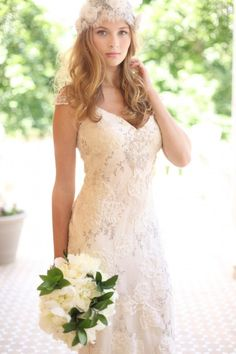Claire Pettibone Mystere gown | Soft and Pretty Styled Bridal Photo Shoot in Denver by Meghan Savage Photography| Little White Dress Bridal Shop: Denver Bridal Gowns & Wedding Dresses