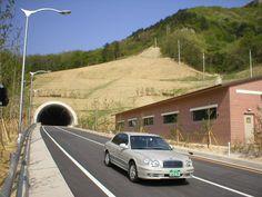 Misiryeong Penetrating Road, Korea   미시령 관통도로