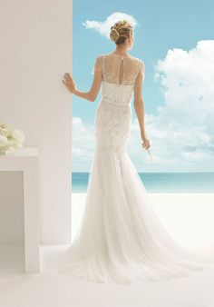 Soft by Rosa Clará Vanesa Mermaid Wedding Dress
