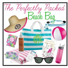 The Perfectly Packed Beach Bag