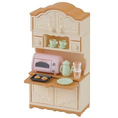 JP Sylvanian Families KA-419 Upgraded Cupboard and Toaster Set 2017 *Pre Order* #Epoch
