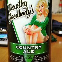 Sweet, malty bitterness. #CheersBDB - Drinking a Dorothy Goodbody's Country Ale by Wye Valley Brewery