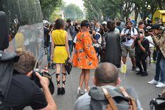 Milan Fashion Week - Sept 2014! #giuliarositani #ootd #outfit #style #streetstyle #fashion #lauracomolli #fashionweek #milanfashionweek #mfw #pursesandi