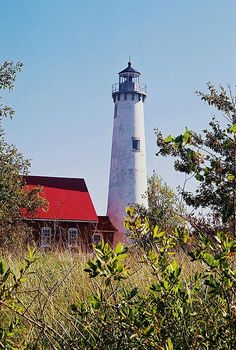 Tawas point lighthouse   Tawas state park  East Tawas, MI