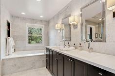Real Estate Photography - 206 E Scranton, Lake Bluff, IL, 60044 - Master Bathroom
