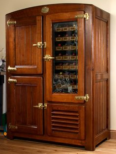 vintage icebox images | La Glaciere - the ultimate in luxury and style | Appliancist