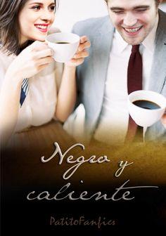 """Caratula para mi one shot """"Negro y caliente"""" en wattpad"""