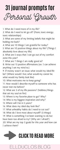 31 journal prompts for personal growth and self discovery. Journaling prompts for self care. 31 journal prompts for personal growth and self discovery. Journaling prompts for self care. Vie Motivation, Motivacional Quotes, Journal Writing Prompts, Bullet Journal Prompts, Life Journal, Def Not, Self Care Activities, Self Improvement Tips, Self Development
