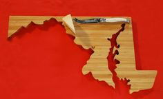 Maryland cutting board! - got this for the fam - shhhhh!