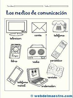 Medios De Comunicacion Para Ninos Actividades De Comunicacion