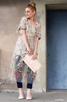 прозрачное платье, смотреть с Кейдом брюками