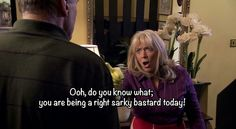 British Humor, British Comedy, Tv Quotes, Movie Quotes, Gavin And Stacey, Morale Boosters, Bridget Jones, Love Actually, Bbc