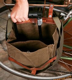 Swiss Military Bicycle Panniers – Set of 2 | Women's Bags & Accessories | Reclamation Department | Scoutmob Shoppe | Product Detail
