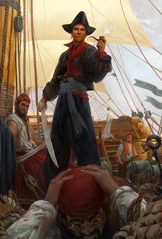 Pirates by torei in Pirates. Showcase of Digital Artworks
