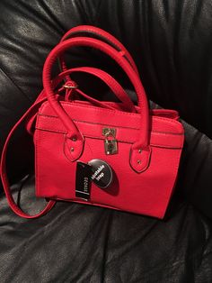 George Red Color Bag made for you!  Price: $11.25 #instacraze #fashion #Bag #Womenbag