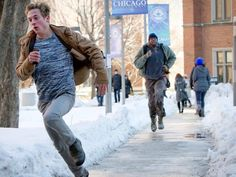 Shameless<---- Everyone's always on the run in this show.