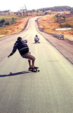 Longboarding. So much fun! And its also a great way to explore those big cities…