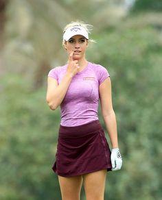 Paige Spiranac's Pro Debut In Dubai | Golf Digest #girlsthatgolf #golf #golfer #golfpractice #golflocations #instagolf