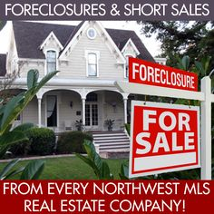 One click to see ALL FORECLOSURE AND SHORT SALE HOMES in King County, WA currently listed as AVAILABLE from EVERY NWMLS real estate company.