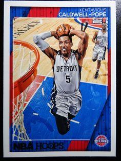 2016-17 Panini Hoops #109 Kentavious Caldwell-Pope Pistons Basketball Card #DetroitPistons
