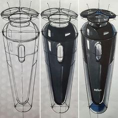 전기면도기(Electric Razor) Sketch & Design www.skeren.co.kr #sangwonseok #skeren…