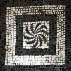 Baths Mosaic 4    One of the floor mosaics in the Terme Femminili in Herculaneum