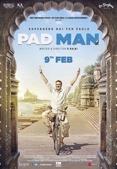 New poster: padman takes the 26 january slot as shifts to april Hindi Movies Online Free, Download Free Movies Online, Free Movie Downloads, Movies Free, Bollywood Posters, Bollywood Cinema, Bollywood News, Akshay Kumar, Sonam Kapoor