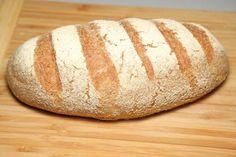 Pan Rústico - Rustikt Brød (lavkarbo) Lchf, Bread, Food, Baking Soda, Meal, Brot, Breads, Hoods, Baking