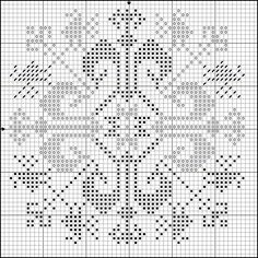 Free Dragon Cross Stitch Patterns | DragonBear: Free Medieval Icelandic Cross-stitch Pattern