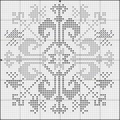 Free Dragon Cross Stitch Patterns   DragonBear: Free Medieval Icelandic Cross-stitch Pattern