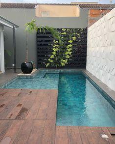 Small Swimming Pools, Small Backyard Pools, Backyard Pool Designs, Small Pools, Backyard Garden Design, Swimming Pools Backyard, Swimming Pool Designs, Outdoor Garden Rooms, Small Pool Design