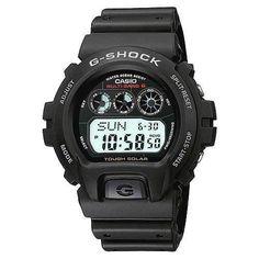 Casio Mens GW6900-1 Tough Solar G-Shock Atomic Digital Sport Watch