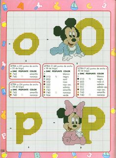Disney babies alpha 8 of 13 Alpha 8, Disney Letters, Embroidery Letters, Cross Stitch Alphabet, Mickey And Friends, Cross Stitching, Cartoon Characters, Needlepoint, Mickey Mouse