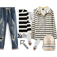 ordinary day by jelena-topic5 on Polyvore featuring The Kooples, Joules, Converse, Miss Selfridge and Casetify