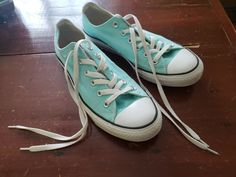 2517162bde27e5 Converse Chuck Taylor All Star Low Top Mediterranean Teal Men Size 7.5  Women 9.5  fashion  clothing  shoes  accessories  unisexclothingshoesaccs  ...