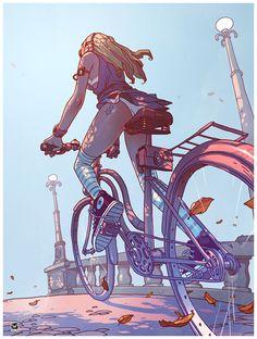 Ride by Janusz Wyrzykowski, via Behance