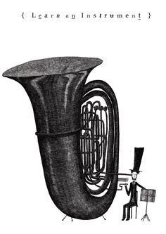 Learn a new instrument! By Temujin Doran.