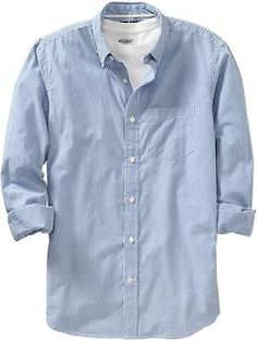 Mens Everyday Classic Regular-Fit Shirts