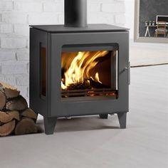 Westfire Uniq 23 Side Glass Woodburning Stove - mk2 - New for 2016 - Woodburning Stove - Contemporary Stove - Modern Stove - Danish Stove - Scandinavian