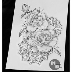 Apparently, this is a tattoo, but I think I could draw this myself and create a coloring page instead :D