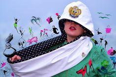 Shinny small polka vinyl scoodie by CiervaUK on Etsy Etsy, Shopping, Fashion, Moda, Fasion, Trendy Fashion, La Mode