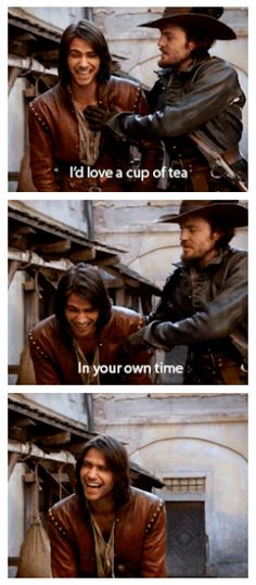 The Musketeers - Series 1 DVD extras<<Loved this bit -- Great