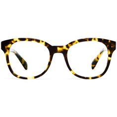 Warby Parker Mallory Eyeglasses ($95) ❤ liked on Polyvore featuring accessories, eyewear, eyeglasses, glasses, sunglasses, gimlet tortoise, cocktail glasses, tortoiseshell glasses, warby parker eyewear and tortoiseshell eyeglasses