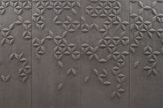 Helen Amy Murray: Wildleder, P. Floor Patterns, Wall Patterns, Textures Patterns, Ceiling Design, Wall Design, Chinoiserie, Beton Design, Leather Wall, 3d Wall Panels