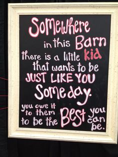 Life lessons learned by showing livestock. Need this in our barn. 4 H, Lessons Learned In Life, Life Lessons, Stall Decorations, Show Steers, Country Quotes, Farm Quotes, Farm Sayings, Pig Showing