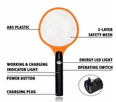 Best Mosquito Rackets in 2019 Reviews - disneySMMoms Mosquito Zapper, Bug Zapper, Electric Bug, Tire Swings, Good Environment, Rackets, Plugs, Things To Come, Champs